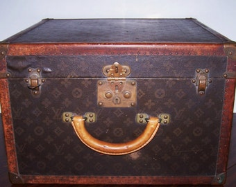 Antique Louis Vuitton/Paris Travel Trunk