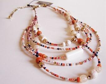 Vintage Fun Hip Stylish Multi-Strand Necklace