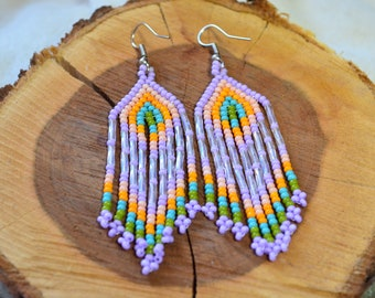 096f2e9b456b Chaquira beads Earrings