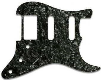Replacement Hum Single Single Pickguard For Fender® Stratocaster® - Black Pearl or Blue Pearl