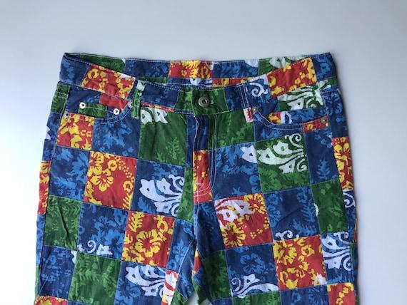 Patchwork Madras Pants -  Amazing Cotton Plaids St