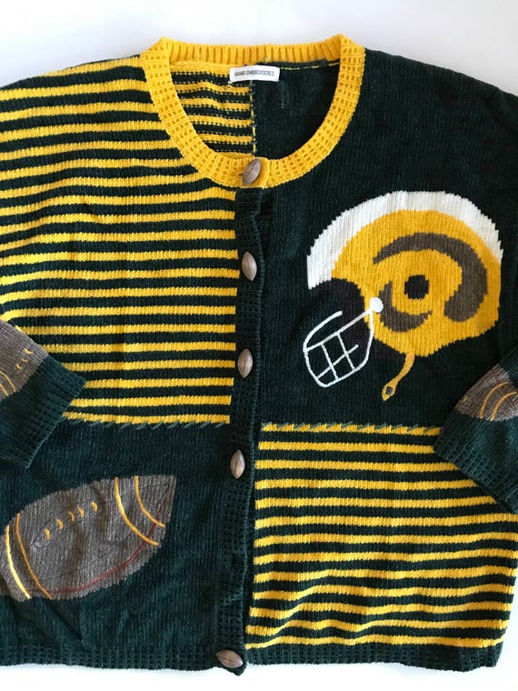 Green Bay Packers Football Sweater - Green Gold Ca