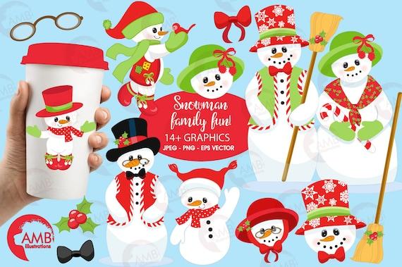 Cute Snowman svg, Christmas cut file, Snowman Clipart By MagicArtLab |  TheHungryJPEG.com