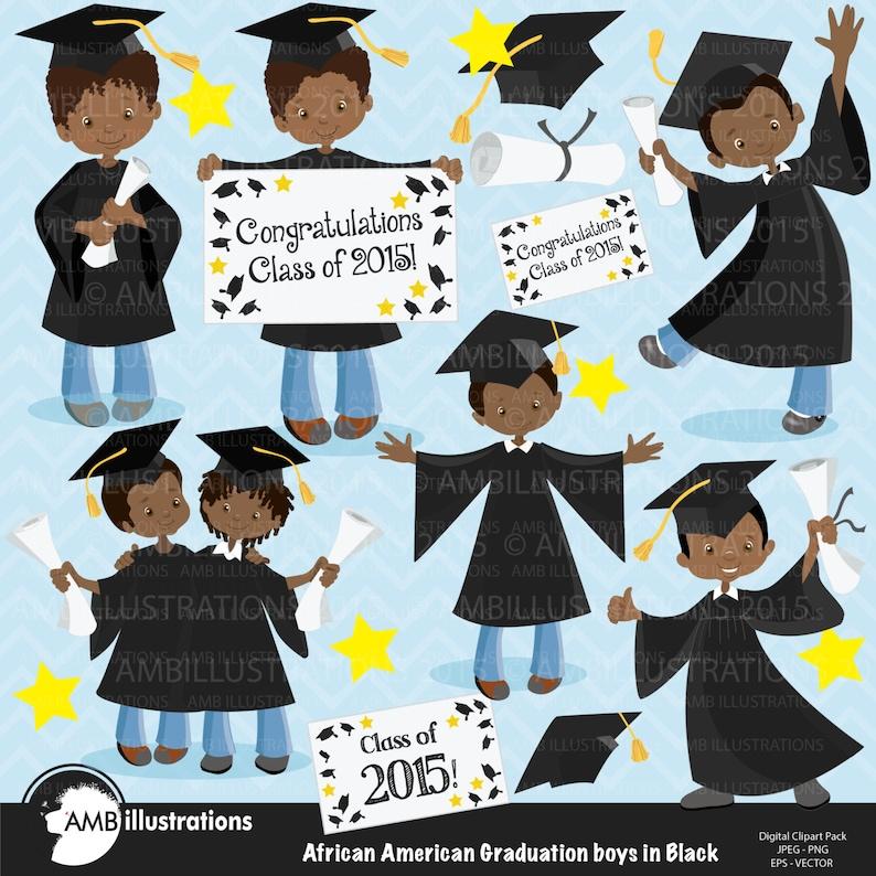 Graduation clipart graduation boys clipart vector graphics image 0