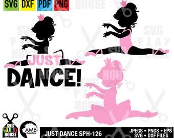 Ballerina SVG,  Svg Files, Just dance svg, Favorite ballerina, Cricut Cut Files, Instant Download, commercial use SPH-126