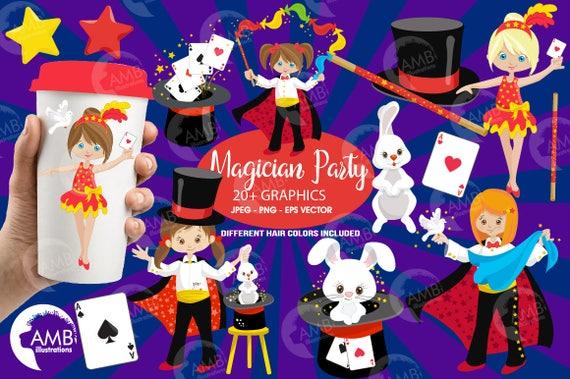 COMBO PACK Magic Show clip art