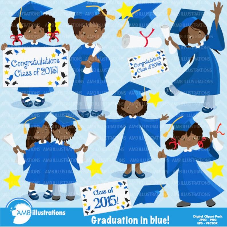Graduation clipart graduation girls clipart African image 0