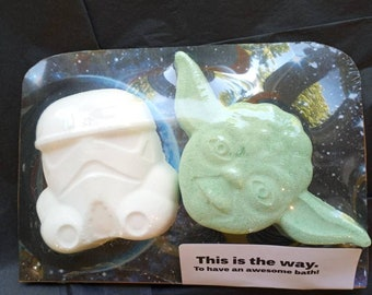 This is the Way Bath Bomb set