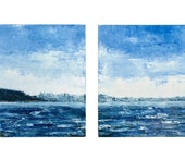 Racoon Strait, Diptych- P...