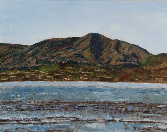 "Giclée, archival fine art prints of my original oil painting- ""Low Tide on Richardson Bay"""