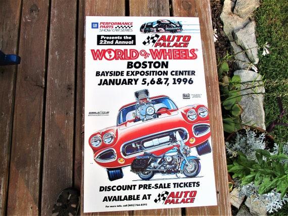 Nd Annual Boston World Of Wheels Car Show Poster Etsy - World of wheels car show boston
