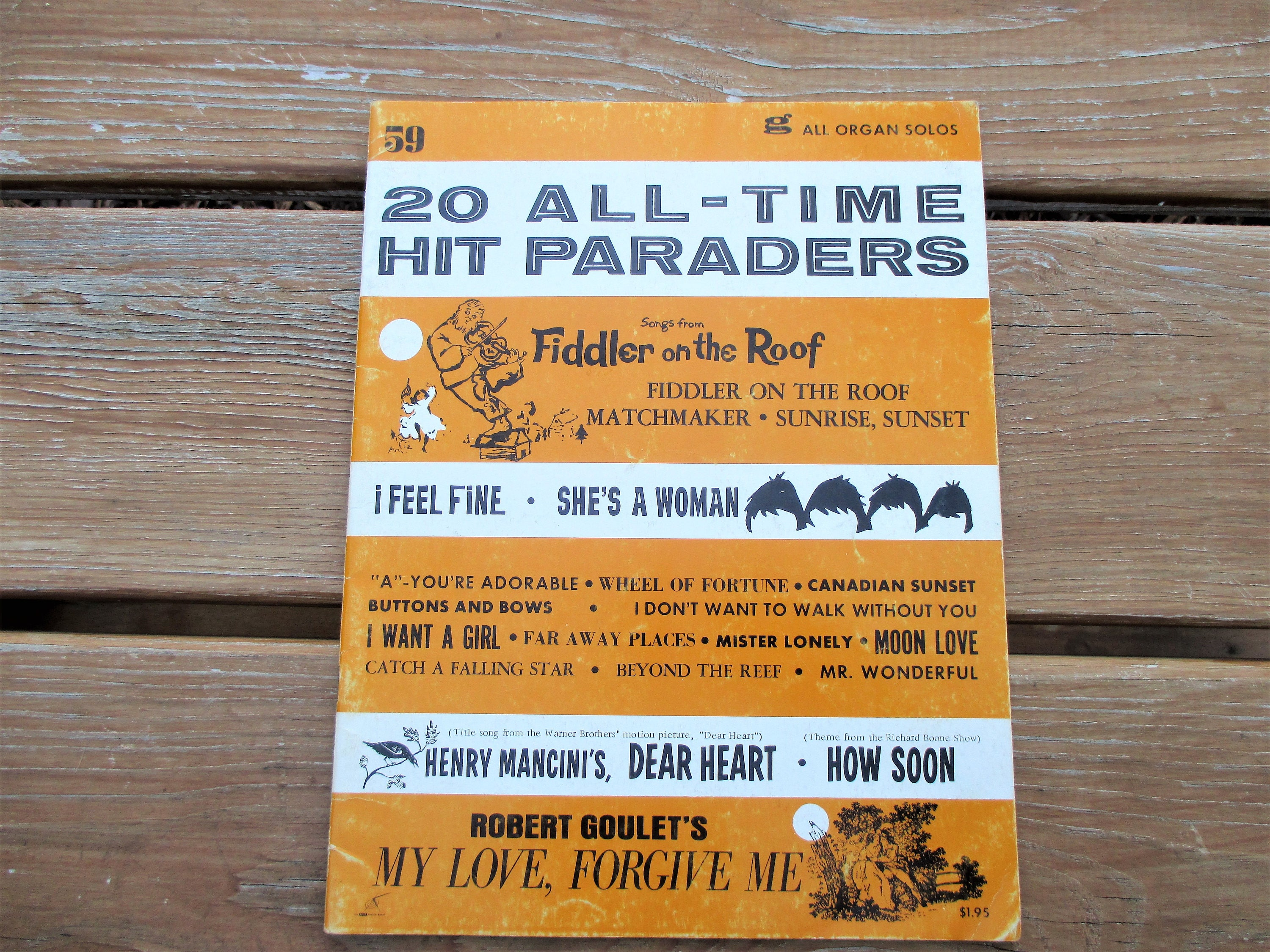 1964 20 All Time Hit Paraders No 59 Sheet Music