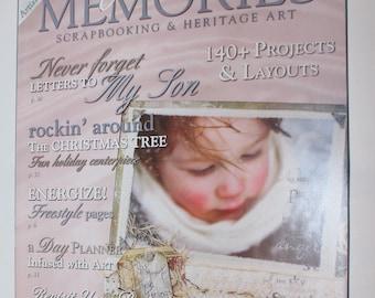 Somerset  MEMORIES Magazine December/January 2008  Scrapbooking & Heritage Art