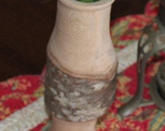Wood Turned Vase- Japanese Cherry