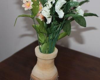 Wood Turned Vase- Domestic Pear