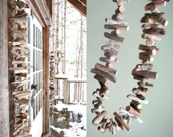 50% OFF and IN STOCK - Driftwood Garland, Beach Wedding Table Decor, Wedding Decor, Wedding Decor, Driftwood Art, Driftwood Decor