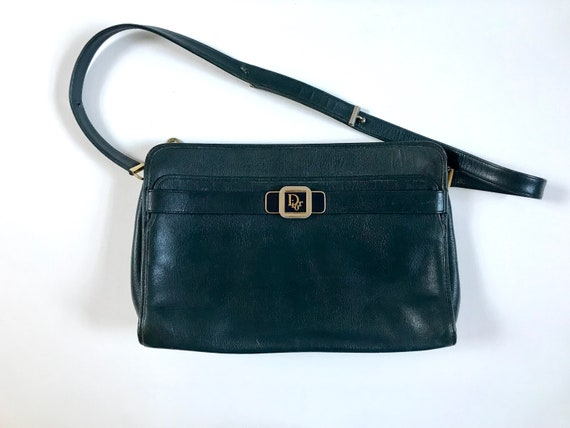 Christian Dior Bag. Vintage Dior Shoulder Bag. 80'