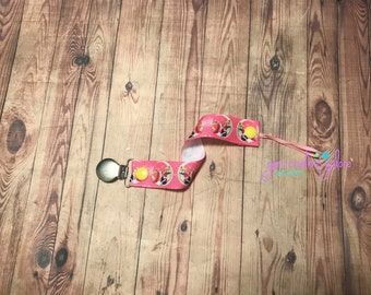 Sailor Moon pacifier clip binky soother strap