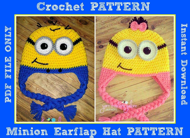 Minion Hat Crochet Pattern Magnificent Design Ideas