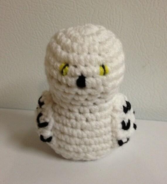 ähnliche Artikel Wie Schnee Eule Hedwig Häkeln Spielzeug Puppe Auf Etsy