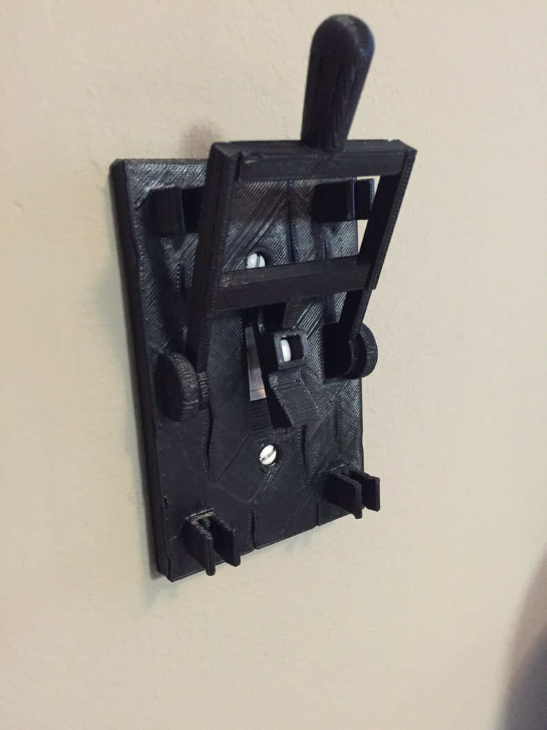 Frankenstein Style Light Switch Plate Turn Any Room Into A Etsy