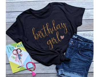 Birthday Girl Shirt Girls Adult Woman Party Gift Teen