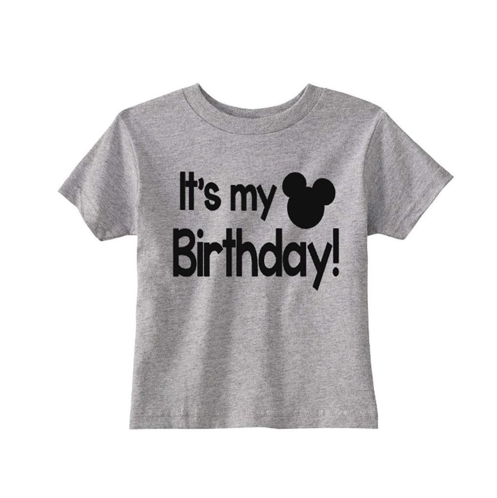Its My Birthday Mickey Mouse Shirt Disney Boy