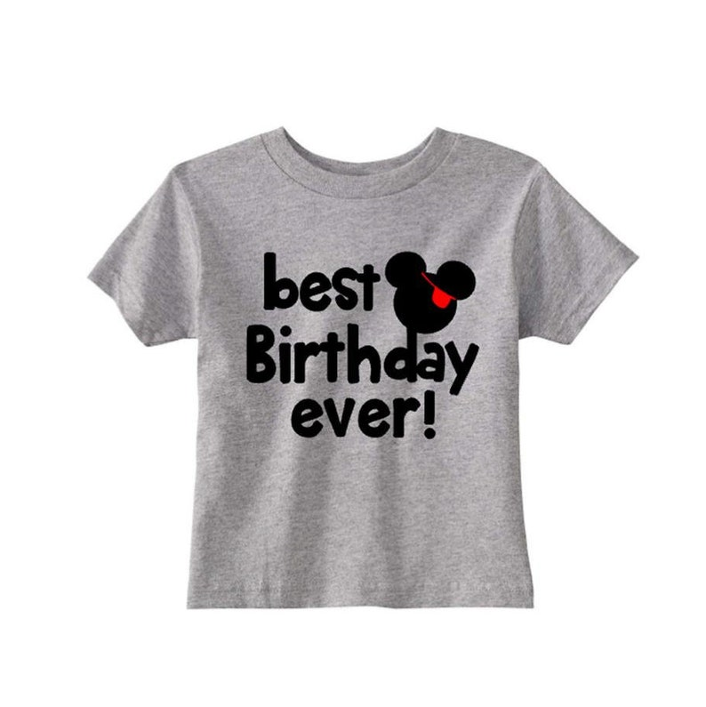 Best Birthday Ever Mickey Shirt Toddler Mouse