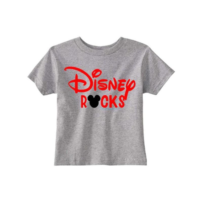 Mickey Mouse Birthday Shirt Disney Rocks Boy