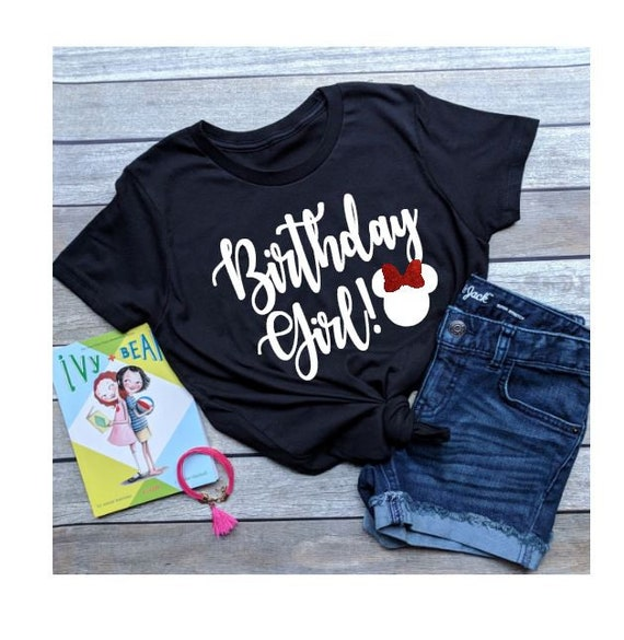 Birthday Girl Minnie Mouse Shirt