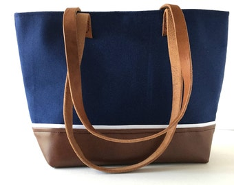 Emily Blue Tote