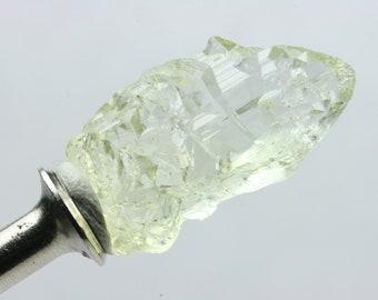 Etched Heliodor, Crystal, Volynskiy Deposit, Zhytomir Region, Ukraine E700