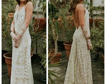 Casual wedding dress   Etsy