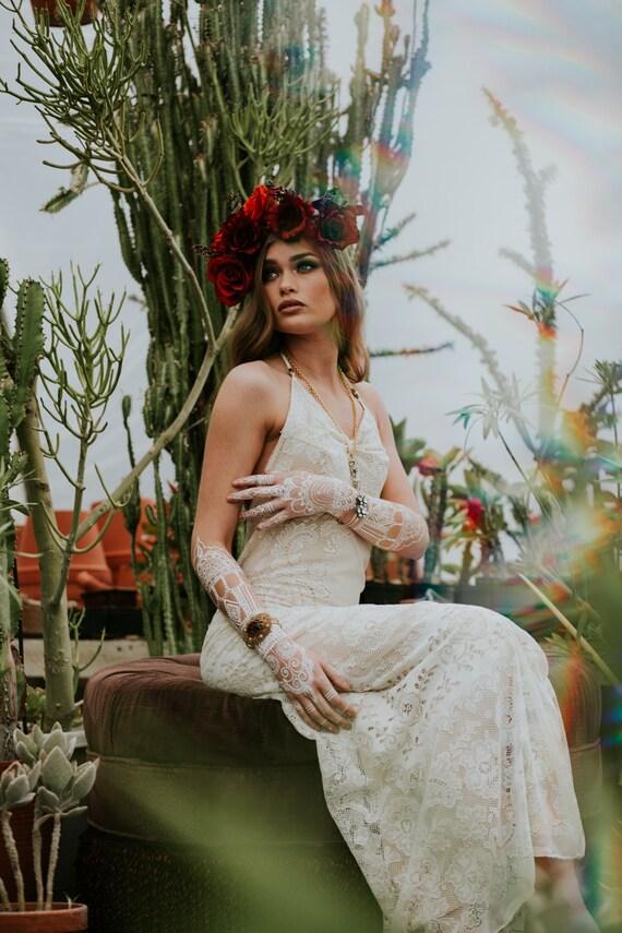 Trouwjurk Boho Wedding Dress Kant Trouwjurk Casual Trouwjurk Vintage Trouwjurk Trouwjurk Boho Strand Bruiloft