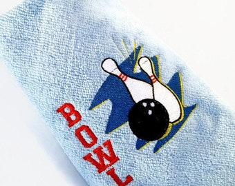 Bowling Towel Personalized