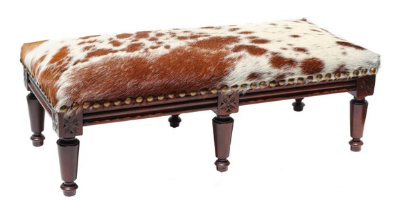 Phenomenal Vintage Victorian Eastlake Furniture Cowhide Stool Cowhide Footstool Cowhide Ottoman Antique Hand Carved Wood Furniture Theyellowbook Wood Chair Design Ideas Theyellowbookinfo