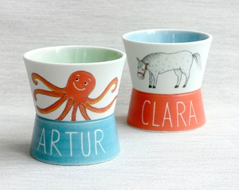 CHILDREN'S CUPS with personalization
