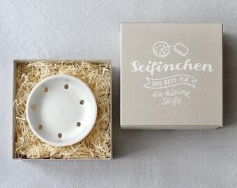 Soap dish SEIFINCHEN white