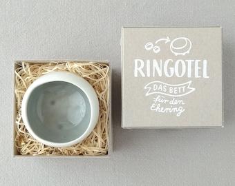 Ringing bowl RINGOTEL grey, customizable