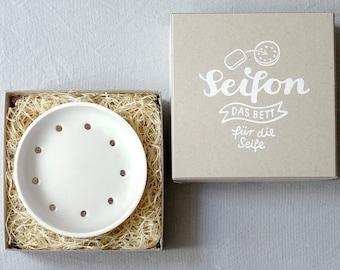 Soap dish SEIFON white