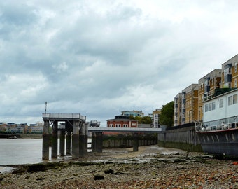 Rotherhithe, River Thames, London - Colour Photographic Print