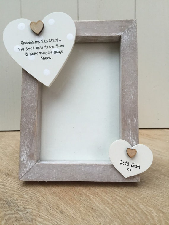 Shabby personalised Gift Chic Auntie Aunty Aunt And Uncle Photo Frame Plaque