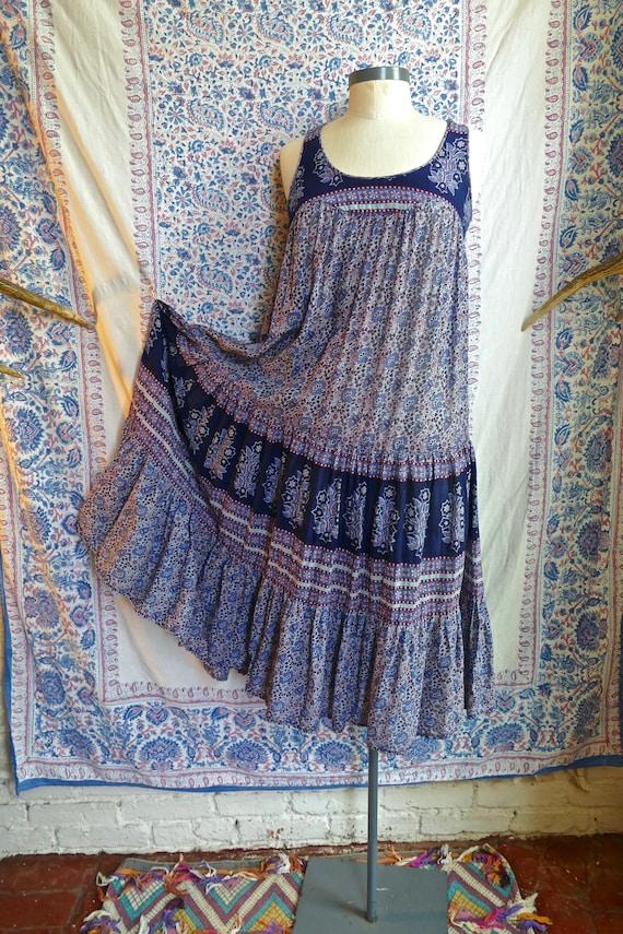 Indian Gauze Cotton Tent Dress