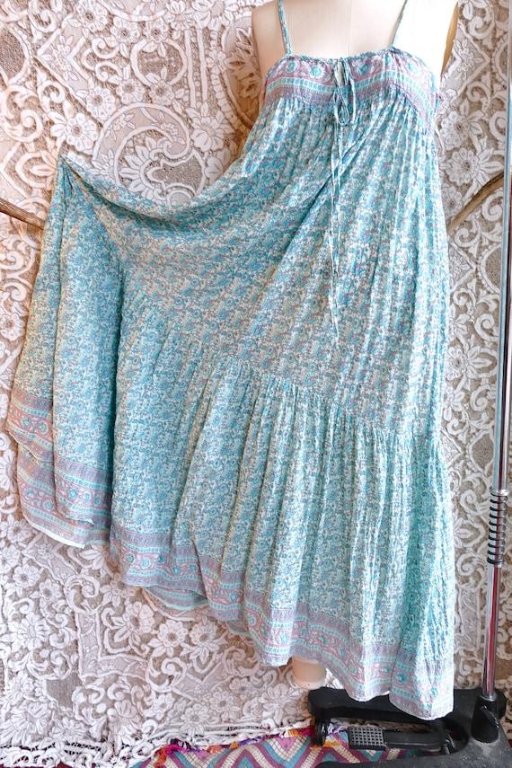 Indian Gauze Cotton Sundress - image 8