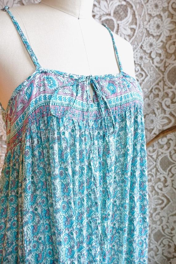Indian Gauze Cotton Sundress - image 6