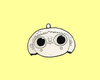 Cute Enamel Pin, cute pin, enamel pin, cutie pin, cute girl pin, pin, lapel pin, enamel pin badge, pin badge, pey chi