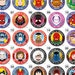 """Farrah Peterson reviewed 5 for 10 Dollars, 2.25"""" Inch Buttons, Pins, Pinbacks, Badges. Choose From 250 Different Designs!"""
