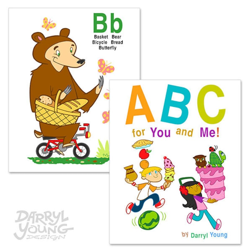 photograph regarding Printable Baby Flash Cards identified as Personalized Alphabet Flash Playing cards Ebook, Electronic Printable - ABC for Oneself and Me - 8\