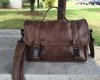 PrimusCraft CUSTOM messenger bag/ laptop bag