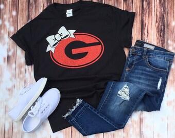 size 40 e2eb6 af18e Georgia bulldogs shirt   Etsy